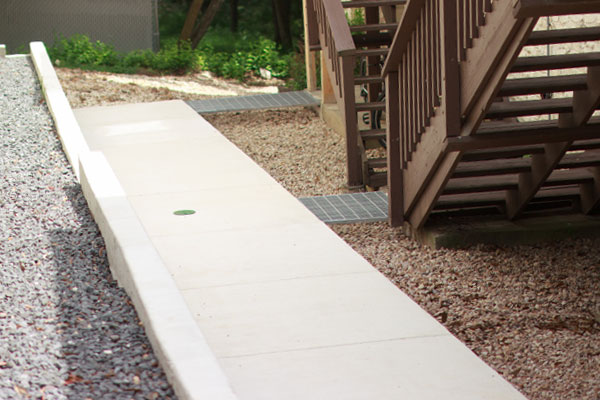 Custom Concrete Sidewalks Professionally Built By JFB Concrete